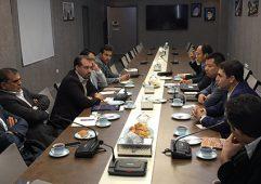 نشست مدیران اجرایی پروژه بازار ساختمانی حکیمیه